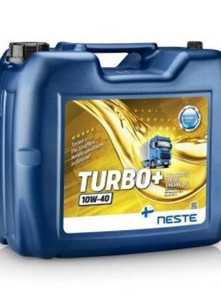 Масло моторное Neste Turbo+ 10W-40 (20 л.) синтетическое (было...