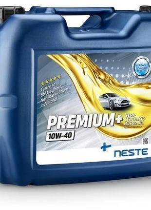 Масло моторное Neste PREMIUM+ 10W-40 (20 л.) полусинтетическое...