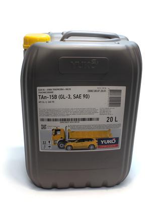 Масло трансмиссионное ТАп-15В (20 л.) минеральное SAE 90, АРI ...
