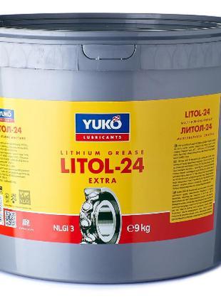 Смазка пластичная ЛИТОЛ-24 9 кг YUKO Юкойл