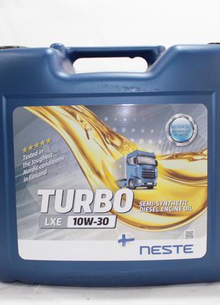 Масло моторное полусинтетическое Neste Turbo LXE 10W30 (API CI...