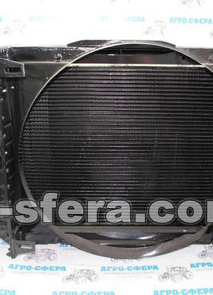 Радиатор водяного охлаждения ЮМЗ с двиг. Д-65 (4-х рядный) 45-...
