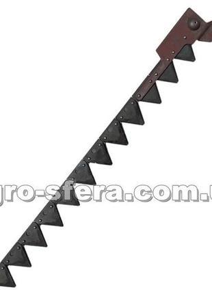 Нож режущего аппарата жатки НИВА коса 5м. Р232.10.000