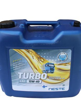 Масло моторное Neste Turbo LXE 15W-40 (20 л.) минеральное