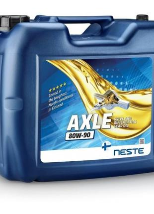 Масло трансмиссионное Neste AXLE 80W-90 (20 л.) минеральное (б...