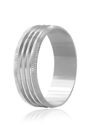 Обручальное кольцо серебряное К2/813 - 17,5