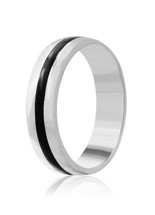 Обручальное кольцо серебряное К2/817 - 17,5