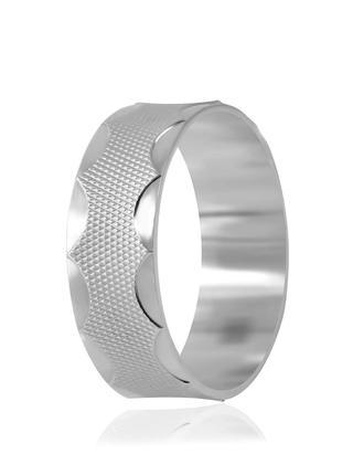 Обручальное кольцо серебряное К2/815 - 18,5