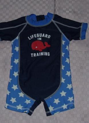 Солнцезащитный костюм/гидрокостюм - baby 3-6 мес. - сток