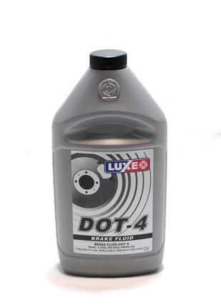 Жидкость тормозная LUXЕ DOT4 (0,76 кг.)