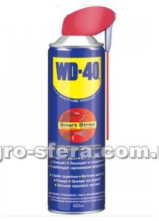 Смазка универсальная аэрозоль WD-40 420мл