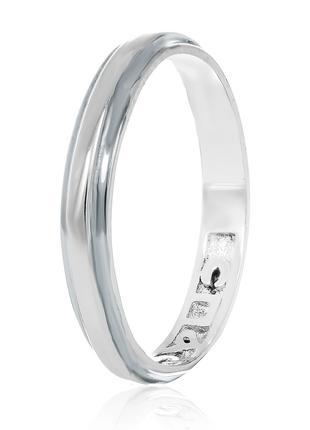 Обручальное кольцо серебряное К2/402 - 19