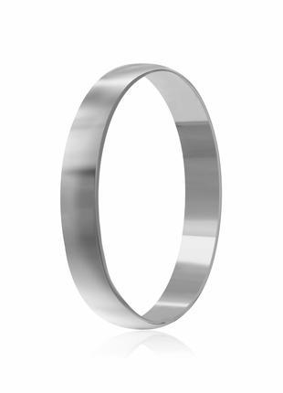 Обручальное кольцо серебряное К2/801 - 18,5