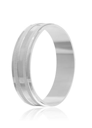 Обручальное кольцо серебряное К2/809 - 21