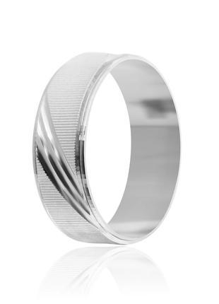 Обручальное кольцо серебряное К2/812 - 16,5