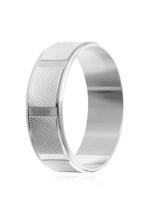 Обручальное кольцо серебряное К2/816 - 18
