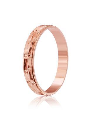 Серебряное кольцо позолоченное К3/531 - 18
