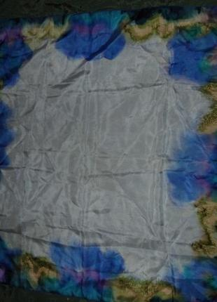 Шелковый платок - 87х86 - оригинал
