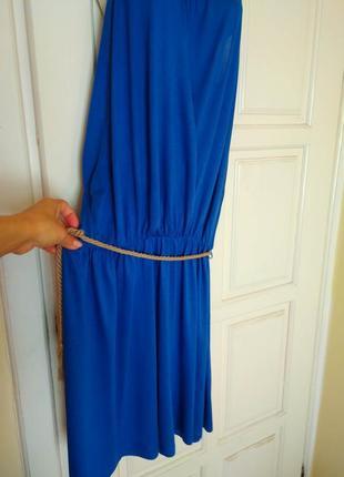 Платье в греческом стиле электрик xl