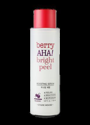 Обновляющая пилинг сыворотка для лица с AHA кислотами Etude Ho...