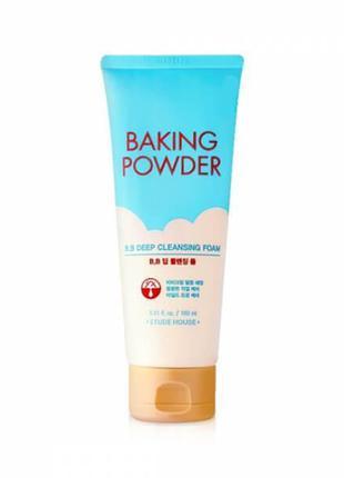 Очищающая пенка для снятия BB-крема Etude House Baking Powder ...