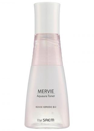 Увлажняющий тонер для лица The Saem Mervie Aquaura Toner 150 м...