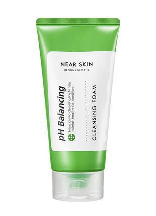 Очищающая пенка для умывания Missha Near Skin Ph Balancing Cle...
