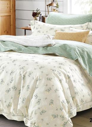 Комплект постельного белья евро Вилюта ранфорс 21139