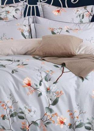 Комплект постельного белья евро Вилюта ранфорс 20134