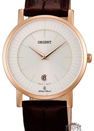 Наручные часы Orient FGW0100CW0 унисекс кварцевые с кожаным ре...