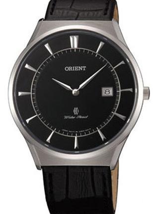Наручные часы Orient FGW03006B0 унисекс кварцевые с кожаным ре...