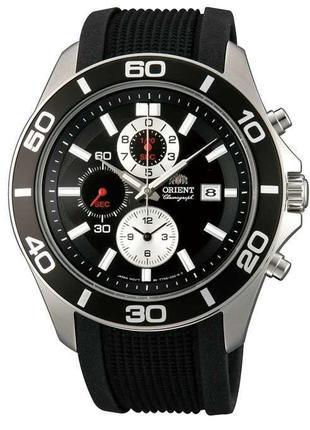 Мужские наручные часы Orient FTT0S003B0 Chronograph кварцевые ...