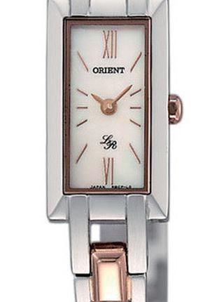Кварцевые наручные часы-браслет Orient LRBCP004W0 женские с ми...