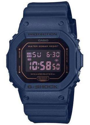 Противоударные наручные часы Casio G-Shock DW-5600BBM-2ER с по...