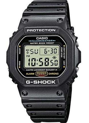 Противоударные наручные часы Casio G-Shock DW-5600E-1VER с пол...
