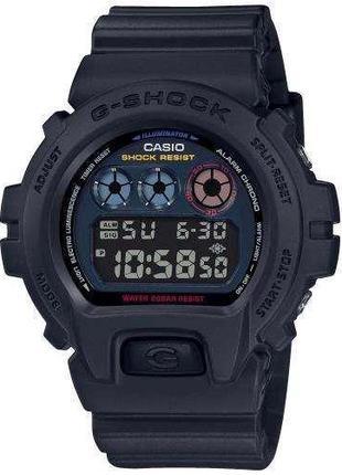 Спортивные наручные часы Casio G-Shock DW-6900BMC-1ER с полиме...
