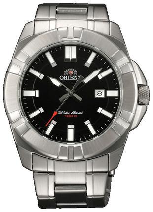 Водонепроницаемые кварцевые наручные часы-браслет Orient FUNE8...