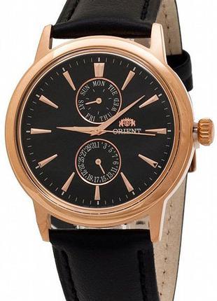 Мужские наручные часы Orient FUW00001B0 кварцевые с кожаным бр...
