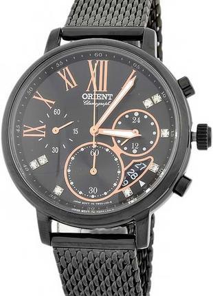 Женские наручные часы Orient FTW02001B0 Chronograph кварцевые ...