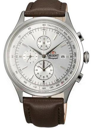 Мужские наручные часы Orient FTT0V004W Chronograph кварцевые с...