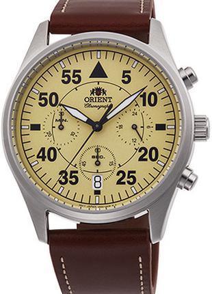 Классические наручные часы ORIENT RA-KV0503Y10B кварцевые на б...