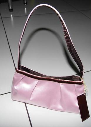 Новая брендовая сумочка-атлас - bhs - 21х 11- этикетка!!!