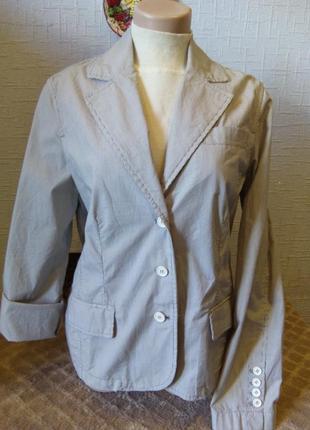 Летний легкий пиджак marine bleu
