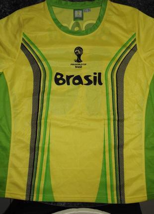 Сувенирная футболка чемпионата мира по футболу 2014 - eur.44 -...