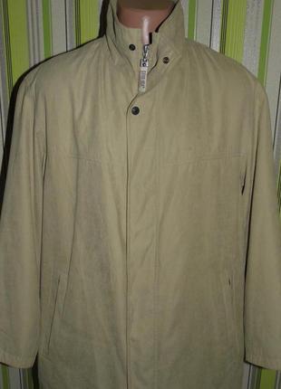 Демисезонная мужская куртка - pierre cardin - gore tex 52/герм...
