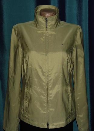 Новая женская куртка ветровка - tommy hilfiger -m/44-оригинал!