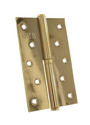 Петля съемная FZB & левая 125*75*2.5 мм PB Золото