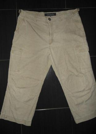 Мужские шорты капри-коттон - casa blanca - 54/60 размер-сток!