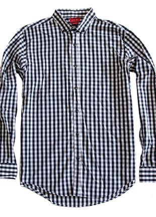 Рубашка Zara Men Slim Fit. Размер L