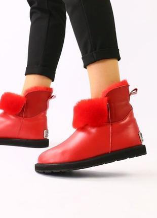Lux обувь! идеальные яркие стильные натуральные угги сапоги 30...